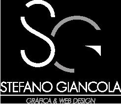 logo stefano giancola grafica e web design L'Aquila